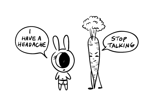 Cyclops Rabbit and Well-Harsh Carrot